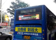 China Bus Back Advertising Bus LED Display , High Brightness P5 bus destination sign IP65 factory