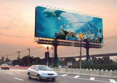 China Wireless Dynamic Electronic Led Advertising Billboard Large Viewing For Public factory