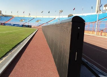 China Custom Full Color Dynamic Stadium LED Display With Large Viewing , lightweight factory