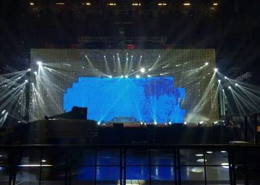 China Large Evening Parties Flexible Led Screen 3200-9300 Adjustable 120° distributor