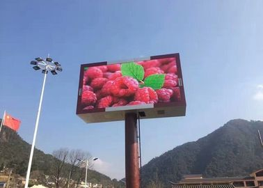 China Dynamic LED Outdoor Signs , P10 Outdoor LED Display Signs with 960xh960mm Panel factory