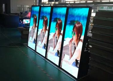 China IP65 LED Poster Pixel 6.0mm Exterior / Waterproof LED Sign Display distributor