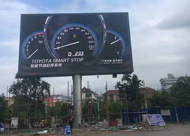 China RGB Advertising Moving Outdoor SMD LED Display Screen for Stadium , high resolution factory