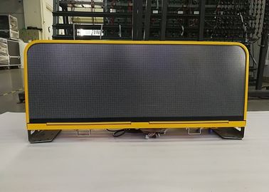 China SMD2727 High brightness Taxi Top Led Display Advertising environment friendly factory