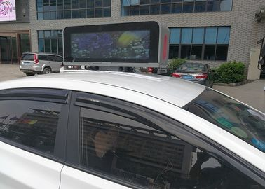China High Brightness Taxi Top Led Display Advertising With Digital Led Panels distributor