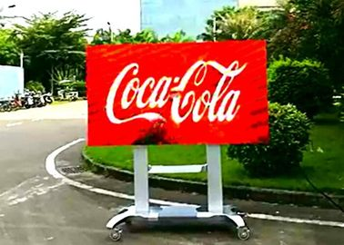 China Digital Outdoor Led Billboard Display Signs P4 For Business , 16 / 9 Gold Ratio distributor