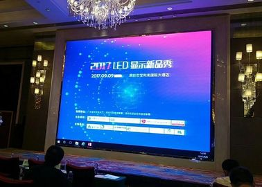 China Trade Show Events P5.95 Video Wall Led Display Screens Mbi5152 Ic Driver distributor