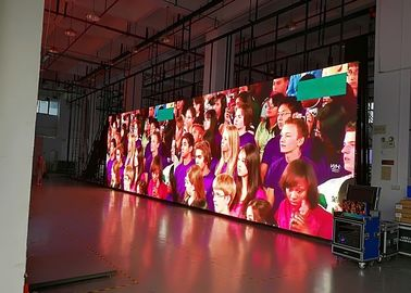 China P4.81 Seamless Indoor Led Video Walls Rental Packages And Installation distributor