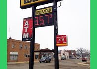 Electronic LED Gas Price Sign , gas station led signs with Series