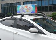 Dual Sides Programmable Taxi Led Display , IP65 Level Rgb Taxi Led Screen