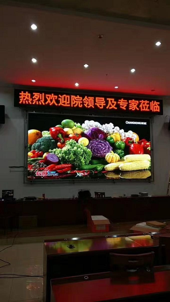 Stage Dynamic Commercial Outdoor SMD LED Display Wall Mounted Energy saving